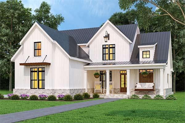 Home with Farmhouse